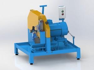 Máquina Para Corte De Amostra De Concreto Semi-Manual