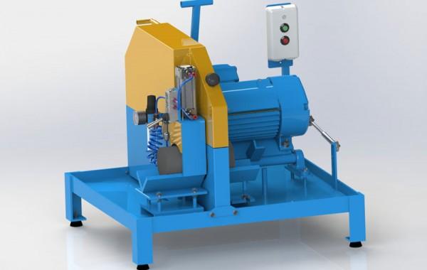 Máquina Corte Amostra Concreto Semi-Manual