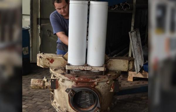 Manutenção de Bombas de Concreto